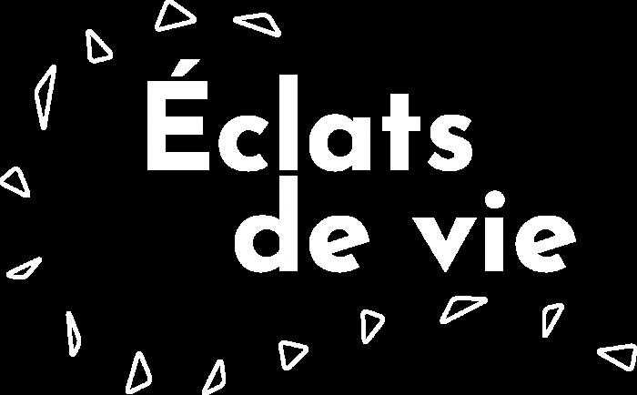 Logo Eclats de Vie white